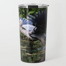 Heron Take-off Travel Mug