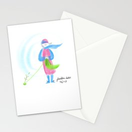 Spring Knitter Stationery Cards