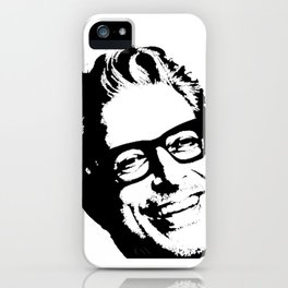 Jeff Goldblum' Smiling Perfect Face iPhone Case