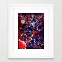 big bang Framed Art Prints featuring Big Bang by Dyna-Soar!