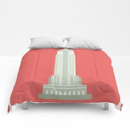 Empire State Building NY Comforters