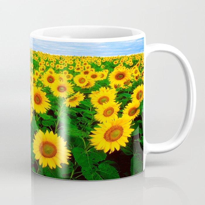 Sunflower Art Decoration Ideas Best Design Coffee Mug By Rzuanshahwal Society6