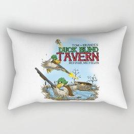 Tom and Brandi's Duck Blind Tavern, Version I Rectangular Pillow