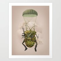 military Art Prints featuring Military by Tanya_tk