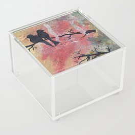 Together - Winter Birds Acrylic Box