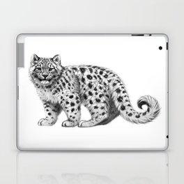 Snow Leopard cub g142 Laptop & iPad Skin