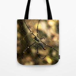 Nephila maculata Tote Bag