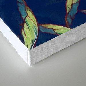 Tropical banana leaves III Canvas Print