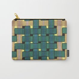Fall Woven Carry-All Pouch