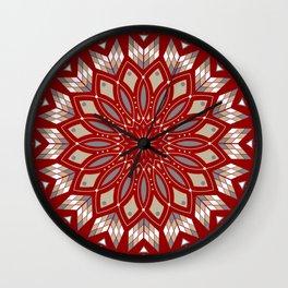 Ancestors (Red) Wall Clock