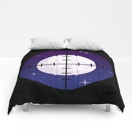 Aim for the Moon Comforters