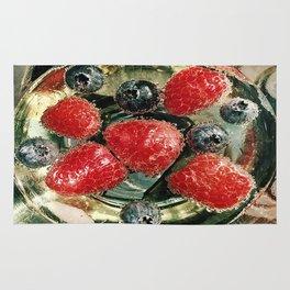 Bubbles N Berries Rug