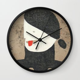 Nervous Nellie Wall Clock