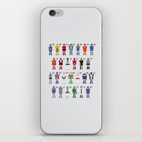 transformers iPhone & iPod Skins featuring Transformers Alphabet by PixelPower