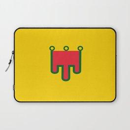 Flag of auvergne Laptop Sleeve