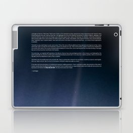 Pale Blue Dot — Voyager 1 (2020 rev.) Laptop & iPad Skin