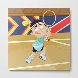 Olympic Sports: tennis Metal Print