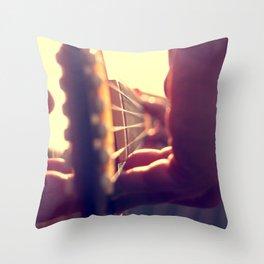 Strum Away  Throw Pillow