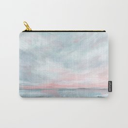Waves of Change - Stormy Sea Seascape Carry-All Pouch