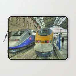 Marseille Trains of Grande Vitesse Laptop Sleeve