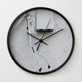 At Loose Ends Wall Clock