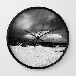 Doomsday Beach Wall Clock