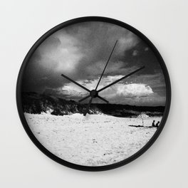 Doomsday Beach Wall Clock