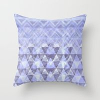 nordic Throw Pillows featuring Nordic Winter by gretzky
