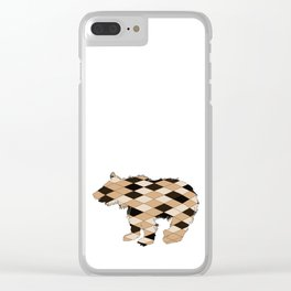 Bear cub Clear iPhone Case