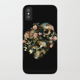 Skull  & Venus iPhone Case