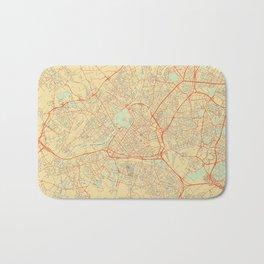 Lille Map Retro Bath Mat