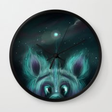 The Universe Creature Wall Clock