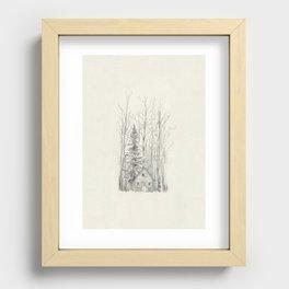 Cellar Recessed Framed Print