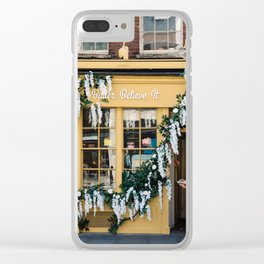 The pastry shop Clear iPhone Case