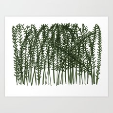 Pretty Weeds Art Print