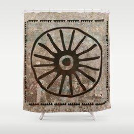 Simbologia Tribal 1 (Islas Canarias) Shower Curtain