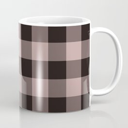 dark dusty rose pattern Coffee Mug