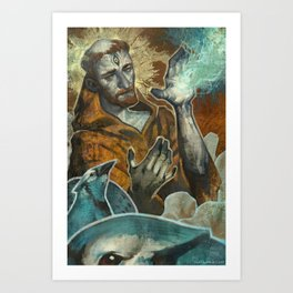 Saint Francis Revisited Art Print