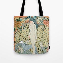 Heavy Petting Tote Bag