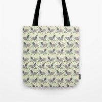 my little pony Tote Bags featuring MY LITTLE PONY by MINIZUKA