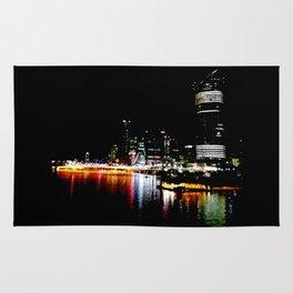 Brisbane River Print Rug