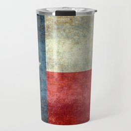 Texas State Flag, Retro Style Travel Mug