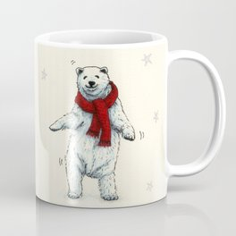 The polar bears wish you a Merry Christmas Coffee Mug