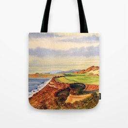 Pacific Dunes - On Bandon Dunes - Golf Course 13th Hole Tote Bag