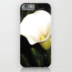 Calla Lily at Night iPhone 6s Slim Case