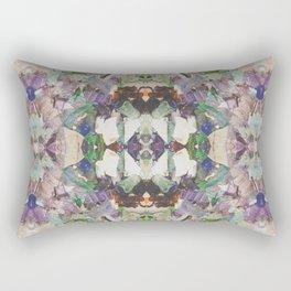 Beautifully Broken | Abstract Glass Art Rectangular Pillow