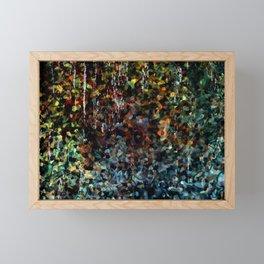Abstractart : Dripstone cave Framed Mini Art Print