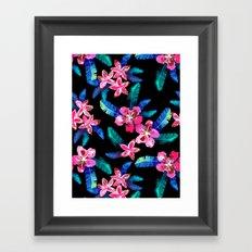 Tahitian Garden {B} Framed Art Print