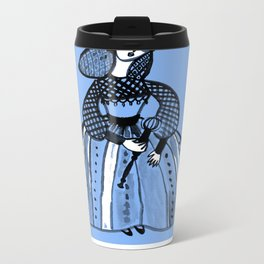 Mary Queen of Scots Metal Travel Mug