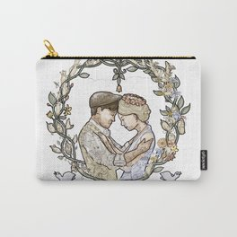 "White background illustration for video of song by Wilder Adkins, ""When I'm Married"" Carry-All Pouch"
